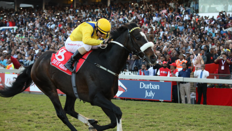 The Vodacom Durban July at Greyville Racecourse, Durban